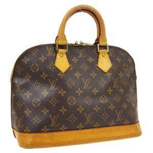 Louis Vuitton Alma Hand Bag Purse #4748L33B